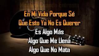 karaoke Algo Mas La Quinta Estacion
