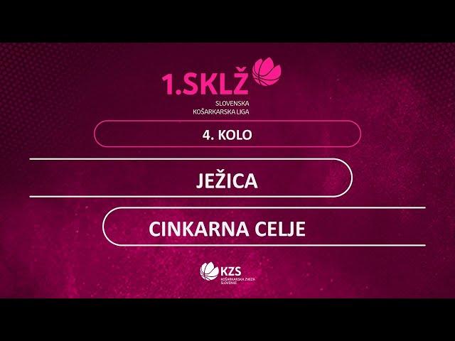 Ježica : Cinkarna Celje - 4. kolo - 1. Ž SKL - Sezona 2020/21 - 4/4