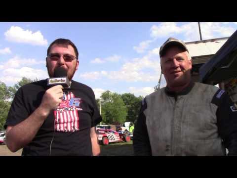 Macon Speedway Miller Lite twin 50's 5 29 2017
