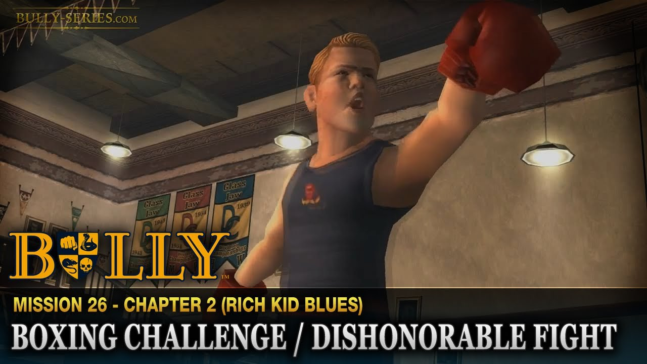 Bully Scholarship Edition Chapter 2 All Missions