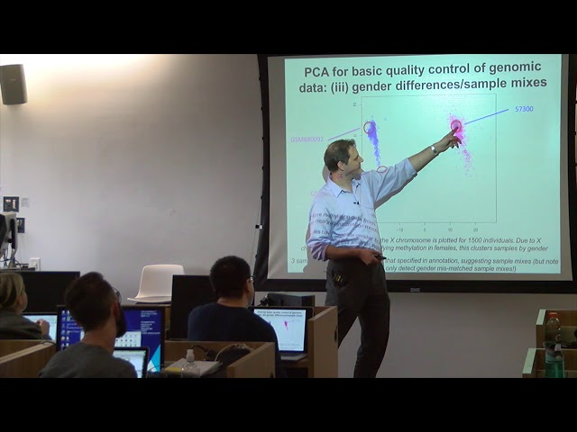 Approaches & statistical considerations for analyzing genomic data - Andrew Sharp, Ph.D.