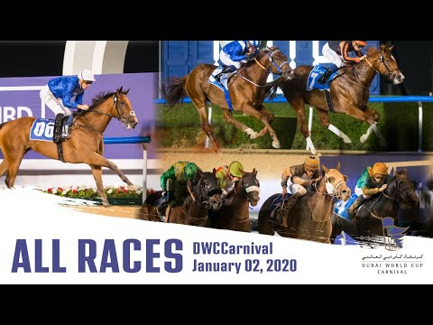 [ALL RACES] Dubai World Cup Carnival 2020 Opening Night