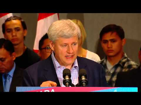 PM Harper attacks Ontario government's provincial pension plan