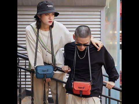Supper Five HipHop Fashion Unisex Girls Boys Shoulder Mobile Mini Bag