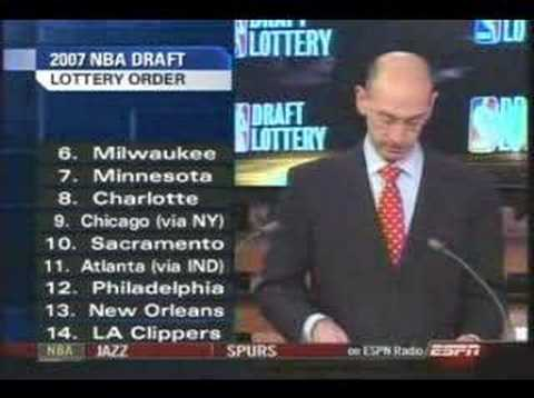 2007 NBA Draft Lottery *COMPLETE/UNCUT**