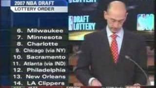 2007 NBA Draft Lottery *COMPLETE/UNCUT**