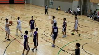 中學學界馬拉松籃球賽2017-梁季彝勝浸附中21比2-201