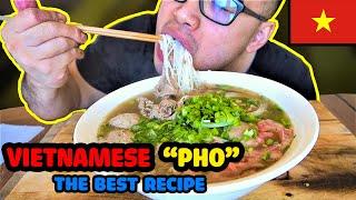 The BEST Vietnamese PHO Recipe