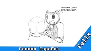 bendy se busca a si mismo en deviantart   bendy and the ink machine comic espaol