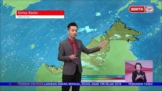 21 JUN 2021 BERITA WILAYAH – LANGSUNG DARI MET MALAYSIA