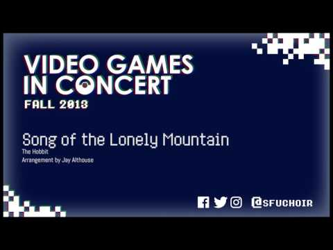 SFU Choir - Song of the Lonely Mountain