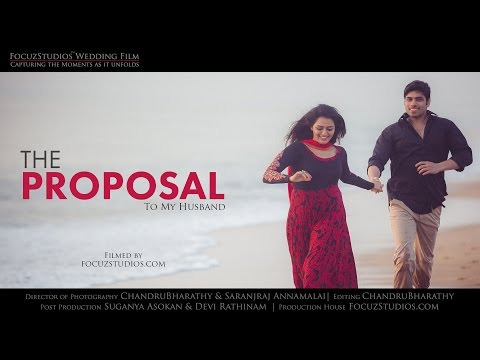 Best LOVE Proposal Ever in Tamil -by FocuzStudios.com [HD]