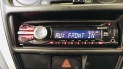 Sony xplod stereo looking and settings for better bass