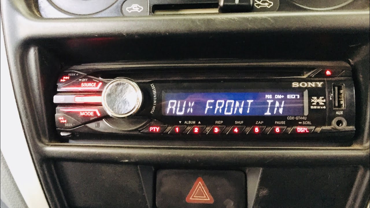 medium resolution of sony xplod stereo looking and settings for better bass