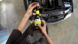 Nettoyage de l'injection sur diesel - Citroën xantia 1.9 td