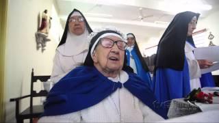 Noviça de 90 anos é enclausurada no convento Santa Clara