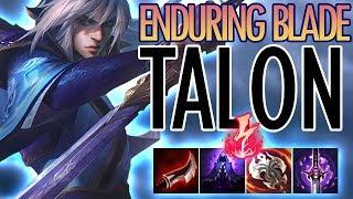 AMAZING NEW ENDURING BLADE TALON SKIN!? - PBE TALON - League of Legends