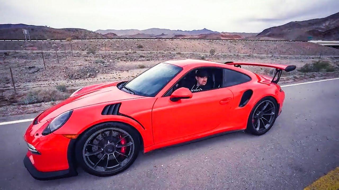 I Rented A Cheap Vegas Porsche Gt3Rs Rental Car Only 549