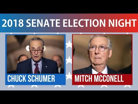 2018 Senate Election Night | Democrats vs Republicans