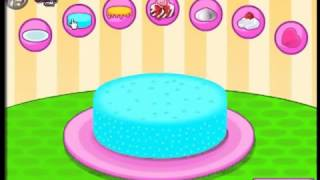 Детская игра, Приготовь торт мороженное, игры для детей