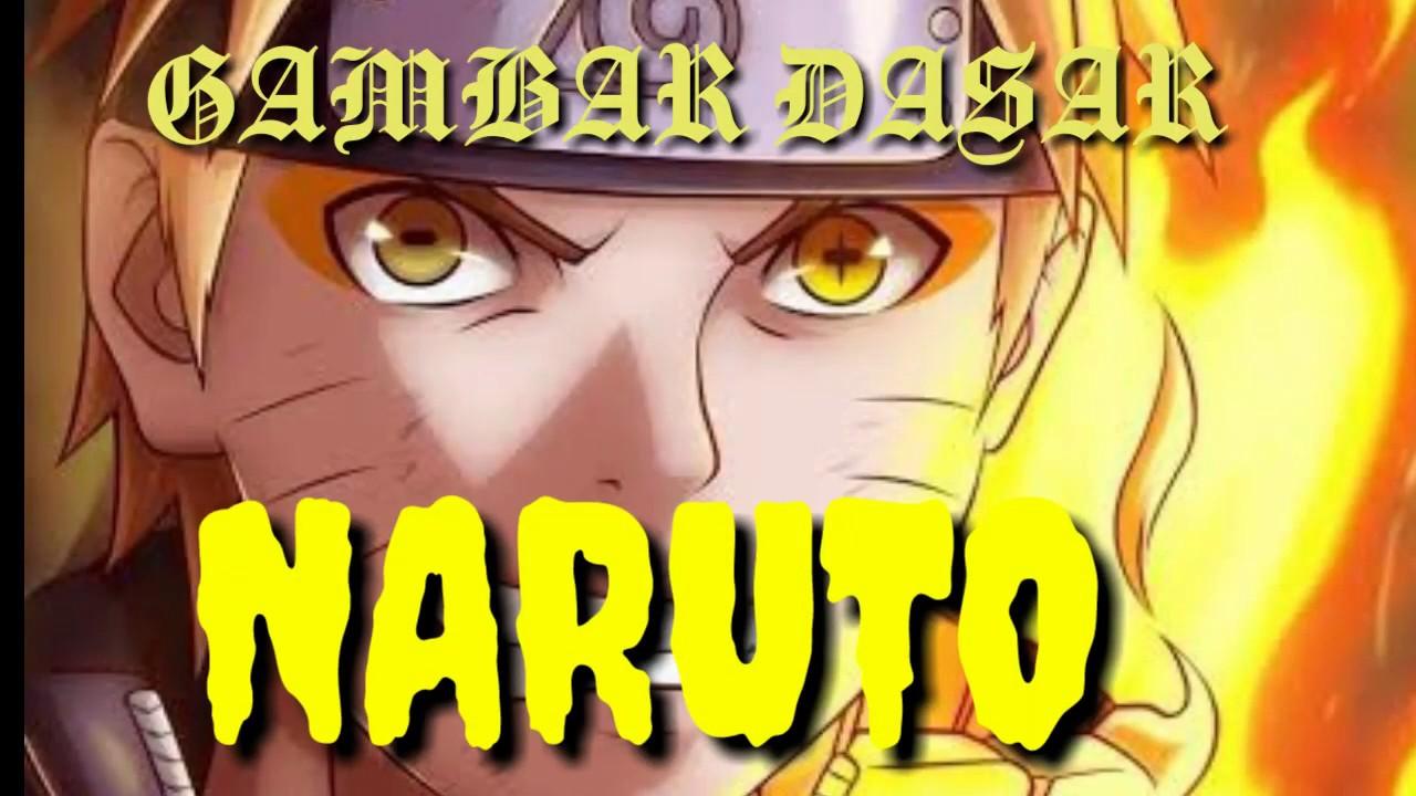 Cara menggambar Naruto - YouTube