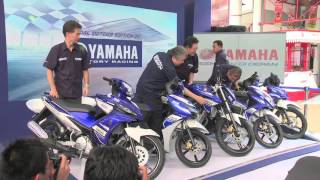 "Launching ""Yamaha MotoGP Team Special Edition by Yamaha Factory Racing"""