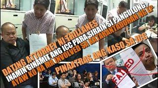 Trillanes On Panic, Atty Sabio inatras kaso sa ICC, Pinagtanggol si PRRD