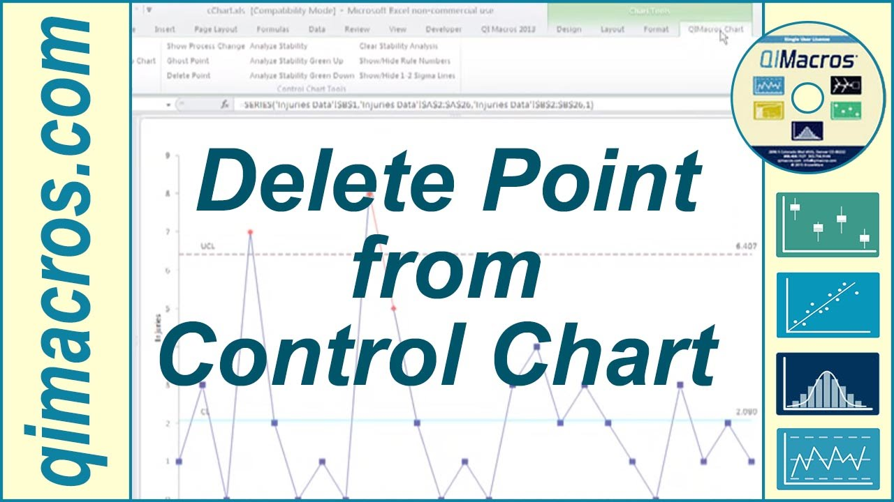 delete point from control chart youtube
