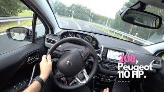 Peugeot 208 1,2 PureTech 81 kW (110 HP) | 4K POV Test Drive