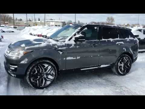 Land Rover Sport 2017 >> 2016 Range Rover Sport V8 Supercharged Dynamic - YouTube