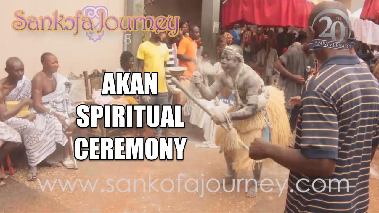Akɔm Akan Spiritual Ceremony
