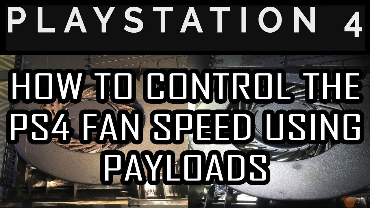 How to use the PS4 Fan Speed Control PAYLOADS | Al Azif exploit host | Fan  control on PS4 LINUX