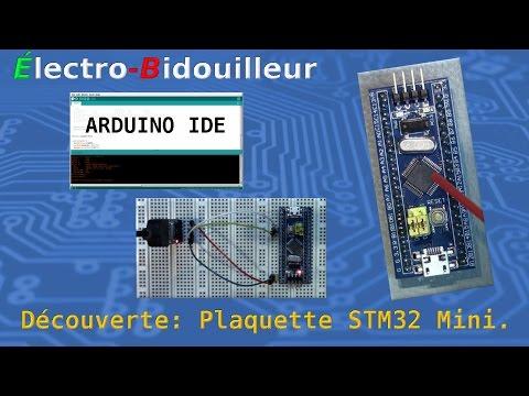 EB_#112 Découverte: La plaquette 32 bits STM32-Mini dans l