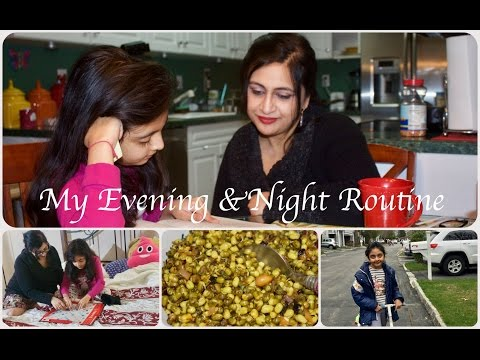 Evening And Night Routine | Indian SAHM | Simple Living Wise Thinking