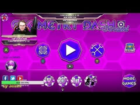 Geometry dash - Level Request - live stream