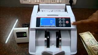 CURRENCY COUNTER with FAKE NOTE DETECTION/Money/Cash/Note Counting Machine