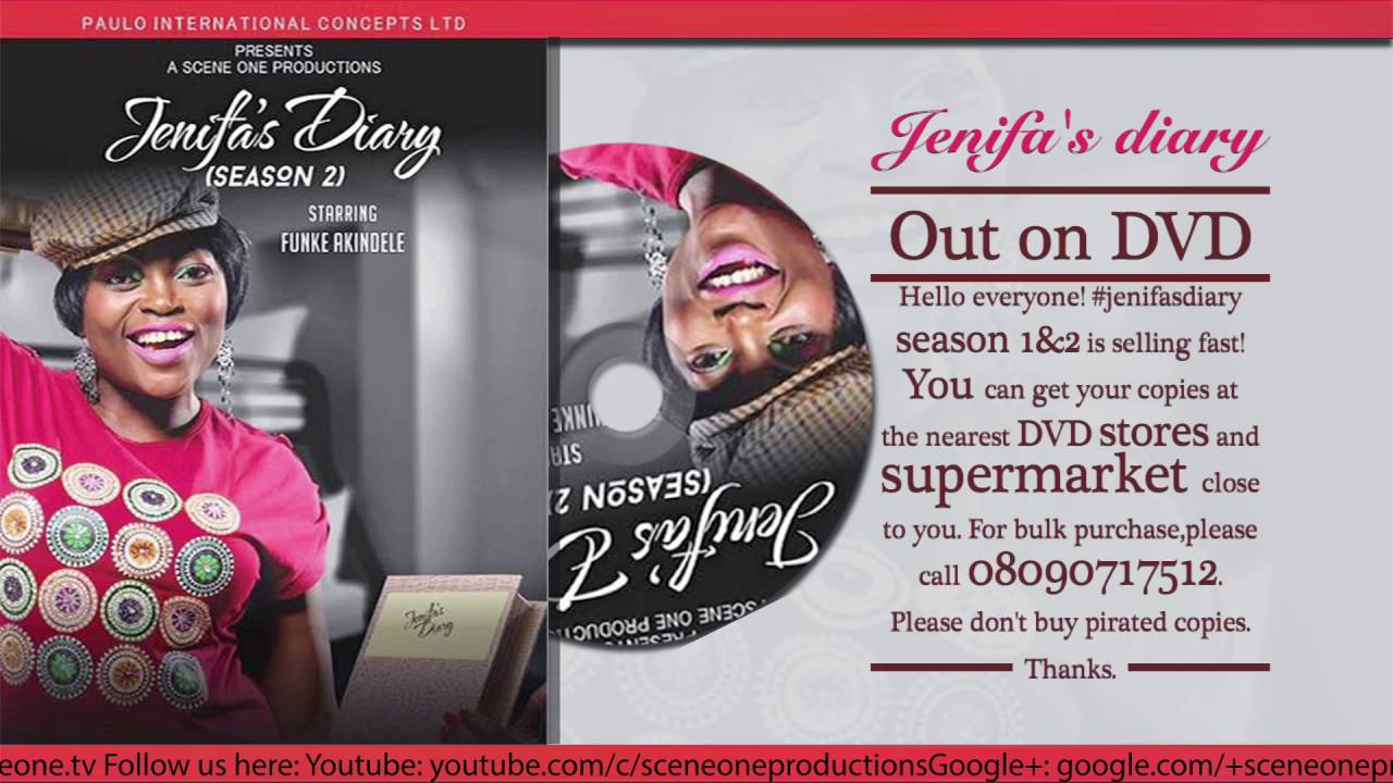 Download JENIFA'S DIARY out on DVD