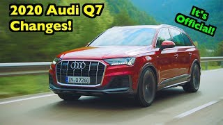 Refreshed 2020 Audi Q7: What's CHANGED??