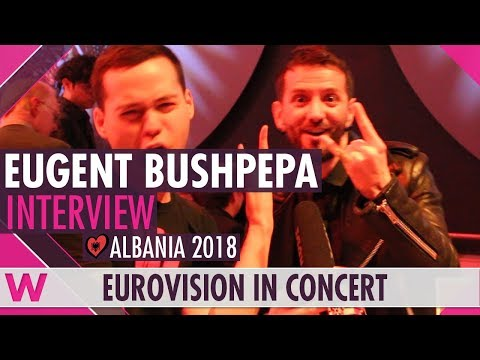 Eugent Bushpepa (Albania 2018) Interview | Eurovision in Concert 2018
