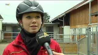 Vom Mädchentraum zum Leistungssport: Reiterin Anna-Katharina Vogel bleibt auf Erfolgskurs