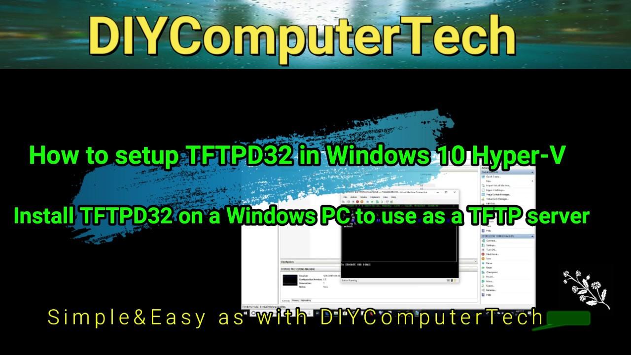tftpd32 client download