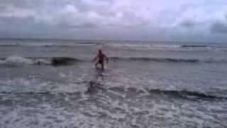 Baden in der Ostsee 13° Wassertemperatur 13° Außentemperatur