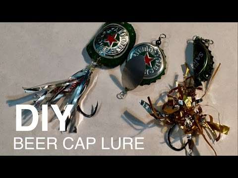 Lure Fishing-Fishing Tools -Making Beer Cap Lure Very Easy Very Cheap - Lure Tốt - Rẻ Tiền - Dễ Dàng