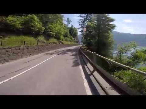 Biking in Switzerland - riding around Zugersee