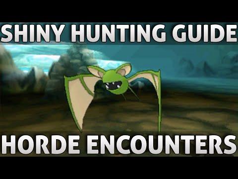 Pokemon ORAS: Shiny Hunting Guide | Horde Encounters (Omega Ruby Alpha Sapphire)