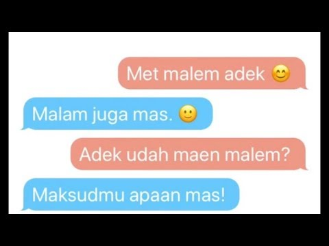 100% NGAKAK!!, TYPO CHAT. - TEXT STORY INDONESIA 2018. #koca