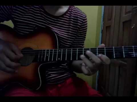 Tutorial Melodi Gitar  Dangdut Lagu   Wes Rag Kuat Mbok