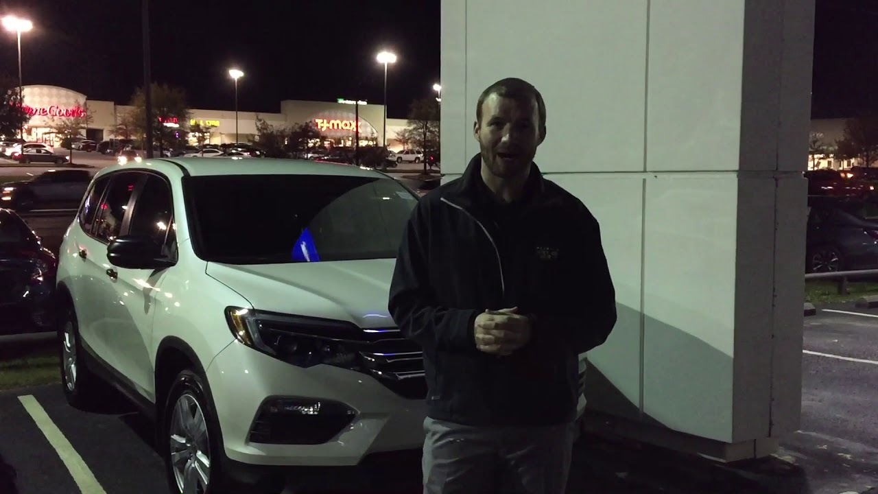 2017 Honda Pilot for Chad from Richard Robichaux at Tameron Honda in