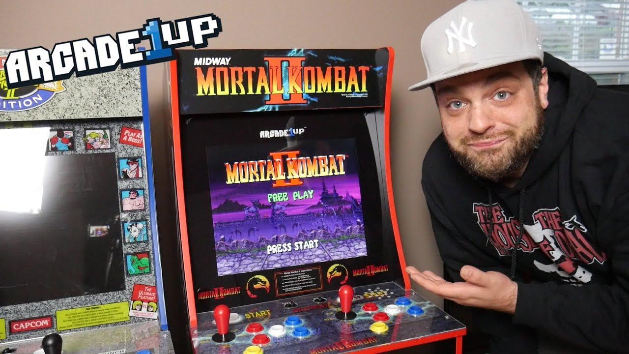 The Mortal Kombat Arcade1UP is AMAZING! | RGT 85