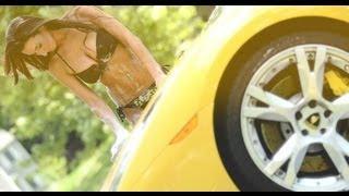 Sexy Lamborghini Car Wash